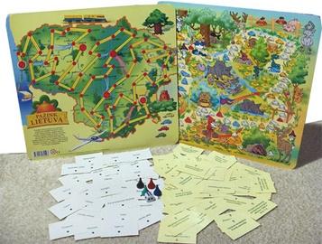 Stalo žaidimas Pažink Lietuvą