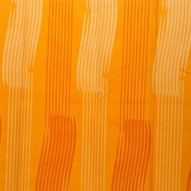 Vannas aizkars Gedy Monocromo 240x200cm, oranžs