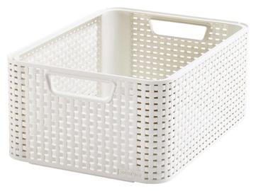 Dėžė Curver Style M, balta, 38,6x28,7x17 cm