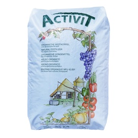 Granuliuotos organinės trąšos Activit, Emolus, 25 kg
