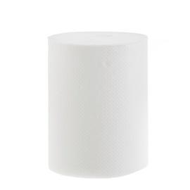 Popierinis rankšluostis, baltas, 120 m