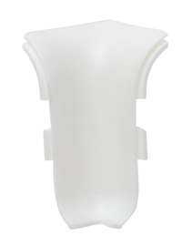 Põrandaliistu sisenurk NGTW00, valge