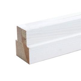 Gruntuotų durų staktų komplektas, 2080 x 75 x 20 mm