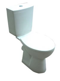 Tualetes pods WC Cersanit, ar vāku