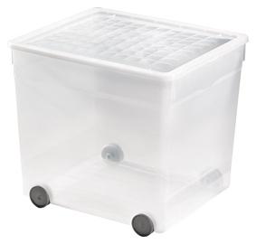"""Dėžė su ratukais ir dangčiu """"Curver"""" R050325, 33 l"""