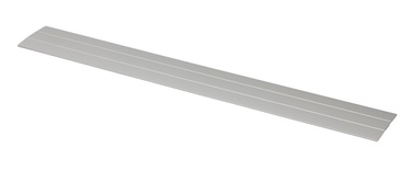 Katteliist S08311 182x4.0cm, alumiinium/hõbedane