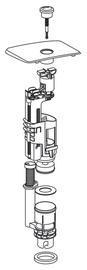 Nuleidimo mechanizmas Gustavsberg Basic 19299U2937