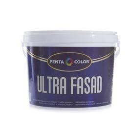 "Fasado dažai ""Pentacolor"" Ultra Fasad, balti, 3 l"