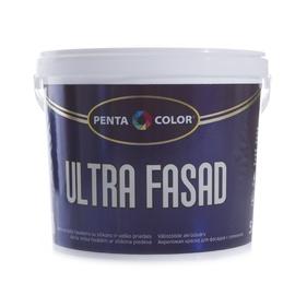 "Fasado dažai ""Pentacolor"" Ultra Fasad, balti, 5 l"