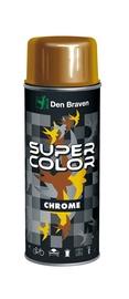 """AEROZOLINIAI DAŽAI """"SUPER COLOR"""" (AUKSO IR CHROMO; 400 ml) (DEN BRAVEN)"""