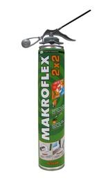 Montažinės putos Makroflex 2 x 2, 750 ml
