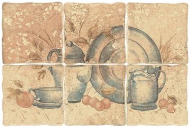 Keraamilised seinaplaadid Tretto Beige, 10x10 cm 8 tk