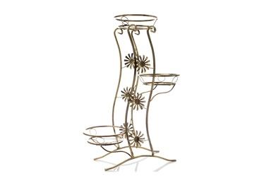 Metalinis gėlių stovas, 55X55X98 cm