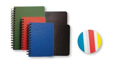 Spiraalkaustik A6, 96 lehte, erinevad värvid
