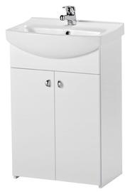 "Vonios baldų komplektas su praustuvu ir maišytuvu ""Cersanit"""