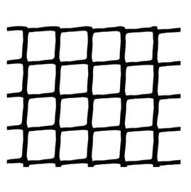 Tvorų tinklas, juodas, 100 cm, 10 x 10 mm