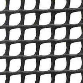 Tvorų tinklas, juodas, 100 cm, 6 x 6 mm