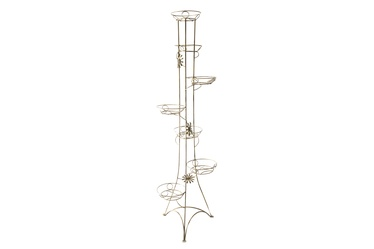Metalinis gėlių stovas, 45X45X175 cm