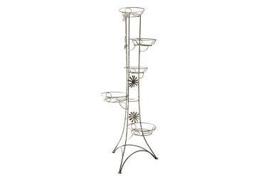 Metalinis gėlių stovas, 45X45X133 cm