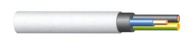 KAABEL KH05VV-U 3X1,5 50M VALGE