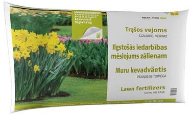 Ilgalaikio poveikio vejų pavasarinės trąšos Baltic Agro, 15 kg