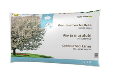 KAĻĶIS GRANULĒTS 15KG (Baltic Agro)