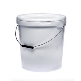 Plastikinis maistinis kibiras su dangčiu, 20 l
