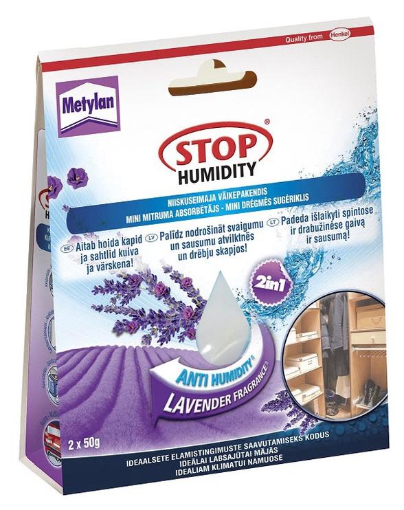 """Drėgmės rinktuvas """"Metylan"""" Stop humidity, 2 x 50 g, levandų kvapo"""