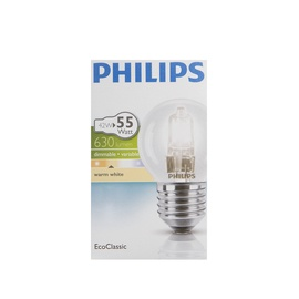 HALOGEENLAMP ECOCLASSIC30 P45 42W E27 CL