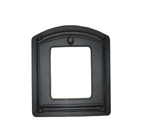 Krāsns durvis ar stiklu Metnetus 325X375MM