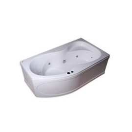 """Kairinė masažinė vonia """"Kyma"""" Neringa, 170 x 94 x 60 cm"""