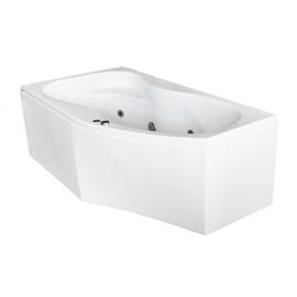Masažinė vonia Kyma Neringa, 170x94x60 cm, akrilas, dešininė