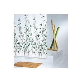 "Vonios užuolaida ""Ridder"" Bambus Green, 180 x 200 cm"