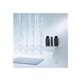 Vonios užuolaida Ridder Dots Silver, 200x180 cm