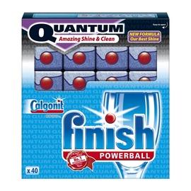 """Indaplovių tabletės Finish """"Quantum"""", 40 vnt"""