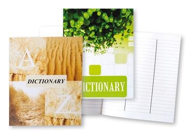 Mokyklinis žodynėlio sąsiuvinis, A5, 32 lapai