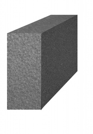 Polistireno putplastis EPS70, 100 x 500 x 1000 mm (frezuotas)