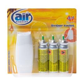 "Oro gaiviklis ""Happy Spray"" Air Menline Limber, su difuzoriumi, 3 x 15 ml"