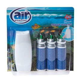 "Oro gaiviklis ""Happy Spray"" Air Menline Aqua, su difuzoriumi, 3 x 15 ml"