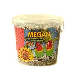 """Vidutinio dydžio papūgų pašaras """"Megan"""", 1 l / 650 g"""