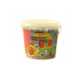 """Vidutinio dydžio papūgų pašaras """"Megan"""", 3 l / 1950 g"""