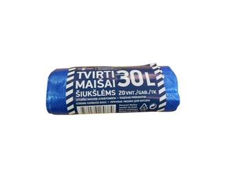 MAISI ATKRIT. HDPE 30L 12MK 20GAB