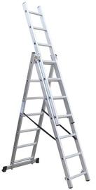 "Universaliosios kopėčios ""Vagner SDH"" BL-E307, 3 x 7, 190 / 405 cm"
