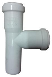 Kanalizācijas caurules trejgabals Magnaplast HTplus D32mm, 90°, PP