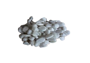Dekoratyviniai akmenys Carrara, balti, 25–40 mm, 20 kg