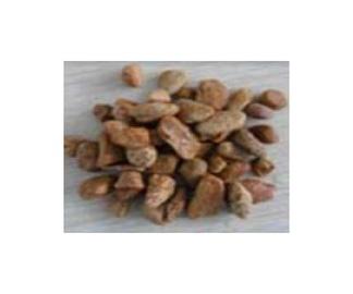 Dekoratyviniai akmenys, gelsvi, 8–12 mm, 20 kg
