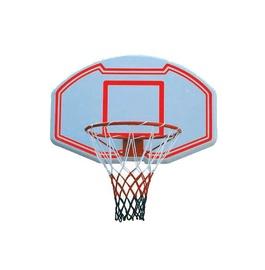 Plastikinė krepšinio lenta SBA005, su lanku ir tinkleliu