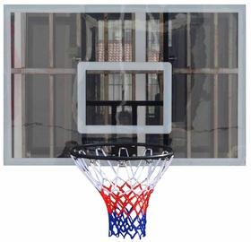 Basketbola grozs ar vairogu un tīklu, 120x80 cm