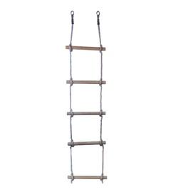 Medinės kopėtėlės, viengubos