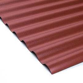 LAINEPLAAT PVC SINUS 18/76 0,9X2M PUNANE